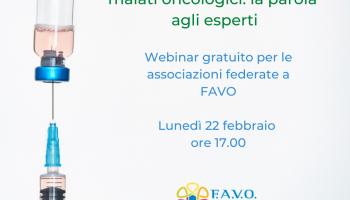 Webinar online: Vaccino Covid e Cancro