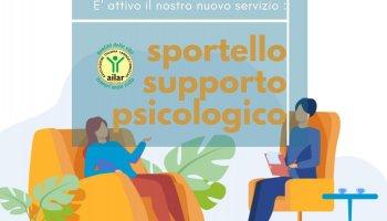 ATTIVO LO SPORTELLO DI SUPPORTO PSICOLOGICO